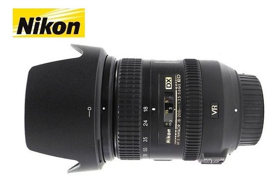 Lente Nikon Zoom Dx 18-200mm F/3,5-5,6g Ed Vr Ii (2)
