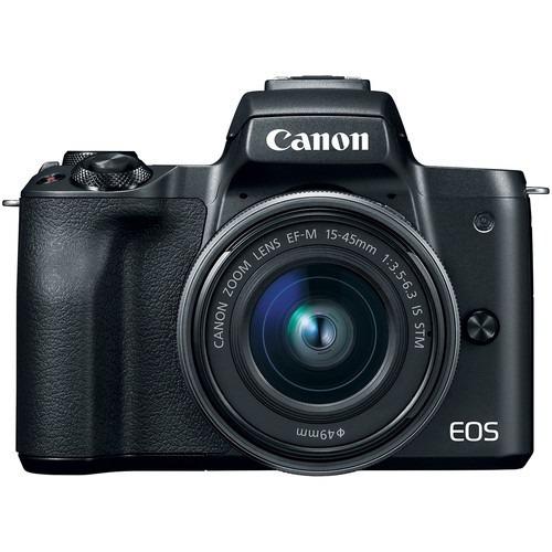 Câmera Canon Eos M50 Com 15-45mm F3.5-6.3 Mirrorless