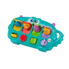 Fisher Price Centro Atividades Monster Pop Up Mattel Dym89