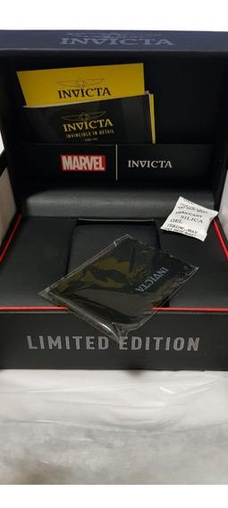 Kit 2 Caixas Estojo Box Relógio Invicta Original Preta Marve