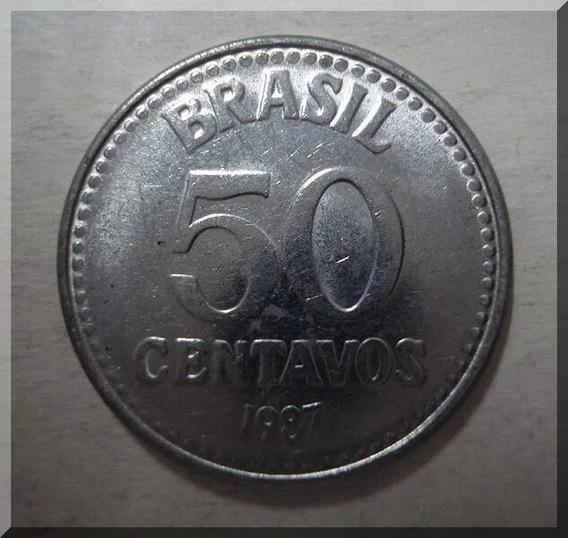 Moeda De 50 Centavos De 1987 Soberba (5804)