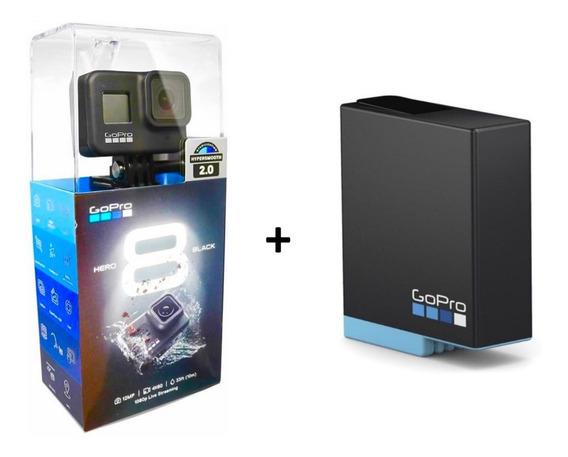 Câmera Gopro Hero 8 Black+bateria Extra Original