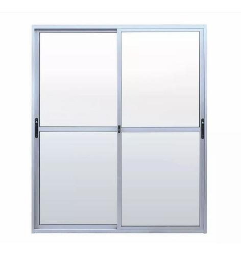 Ventana Aluminio S20 150x200 Con Faja