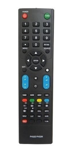 Controle Remoto Tv Lcd Led Philco Ph32d Ph32m Ph42m Similar