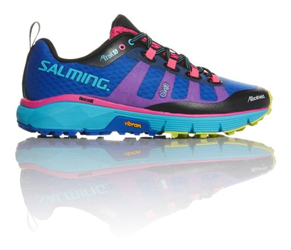 Zapatillas Salming Trail 5 Blue Saphire Running Mujer