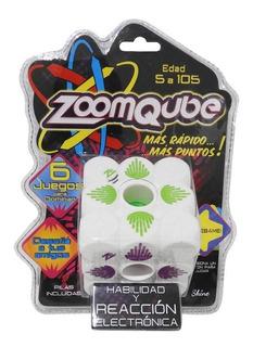 Zoomqube Shine Cubo C/luz-sonido Juego Habilidad Y Reacción