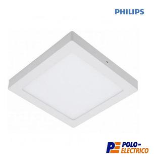 Plafon Led Philips 6w Aplicar Techo Panel Cuadrado