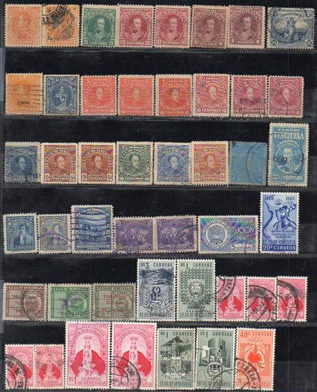 Venezuela 1900-83. Pequeño Lote De 114 Sellos Mayoría Usados