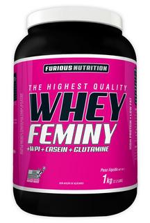 Kit Whey Protein Feminino + Bcaa + Thermo Cuts + Colágeno