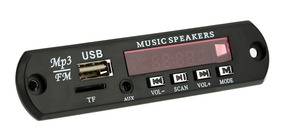 Placa Amplificador Modulo Usb Sd Card E Fm