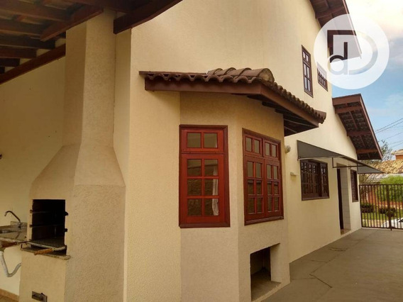 Casa Com 3 Dormitórios Para Alugar, 230 M² Por R$ 3290/mês - Villágio Capricho - Louveira/sp - Ca3539