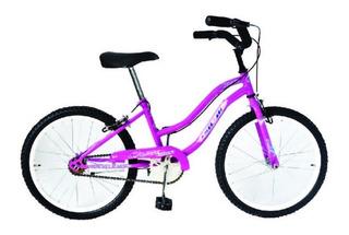 Bicicletas Playeras Rdo. 20 Niñas - Rosa - Violeta