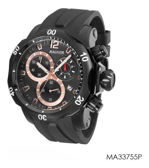Relogio Masculino Magnum Preto Ma33755p