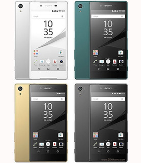 Celular Sony Z5 32 Gb 3gb 23 Mp Lacrado + Capa +película+carregador Ultra-rápido