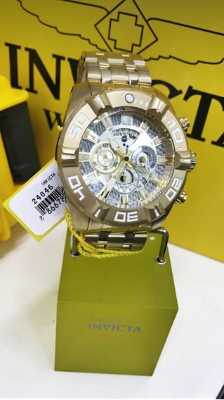 Relógio Invicta Jason Taylor 24846 - Ouro 18k, Resistência À
