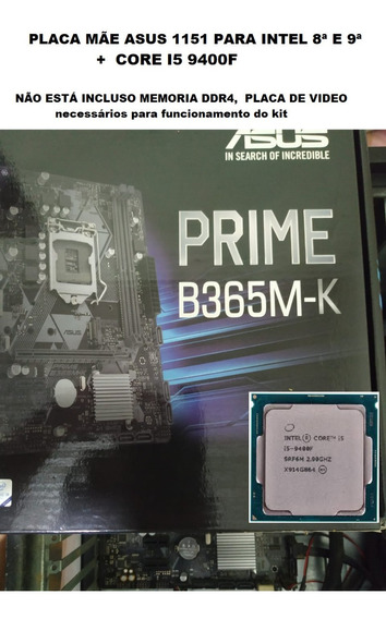 Placa Mãe Asus Com Cpu Intel I5 9400f