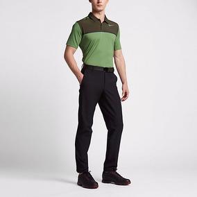 Playera Nike Mobility Remix Polo 833107 Verde Olivo Kaki Ch