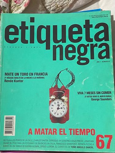 Revista Peruana Etiqueta Negra N 67 Ano 7 Mercado Libre