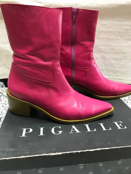 Botas Texanas Pigalle Talle 37 Impecables