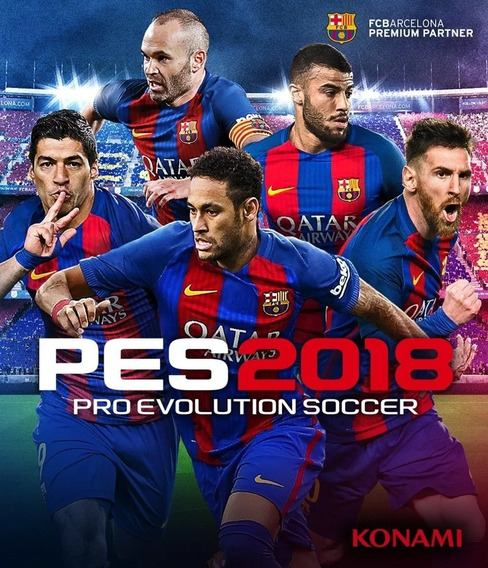 Pro Evolution Soccer 2018 Pes 18 Ps3 Play 3