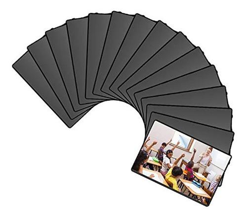 Marco Magnético Para Fotos Negro 3.9x5.9in, Marca Pyle