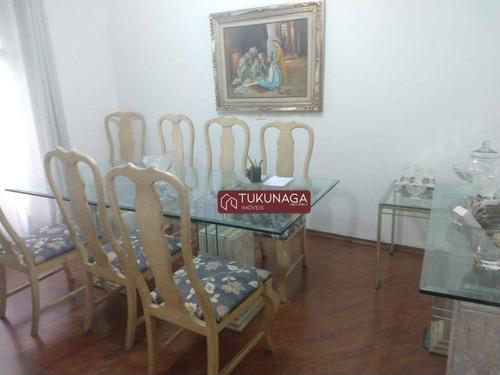 Sobrado Para Alugar, 360 M² Por R$ 5.000,00/mês - Jardim Gumercindo - Guarulhos/sp - So0898