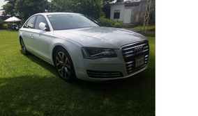 Audi A8 V6 Remato Modelo 2012 Elite Color Blanco