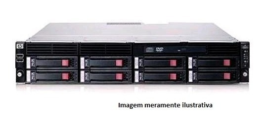 Servidor Hp Dl180 G6 2 Xeon 4core 32gbram 4 Hd 450gb Sas 15k