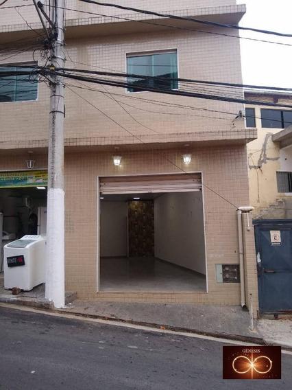 Salão Comercial Para Alugar - Jardim Capelinha - São Paulo/sp - Sl0001