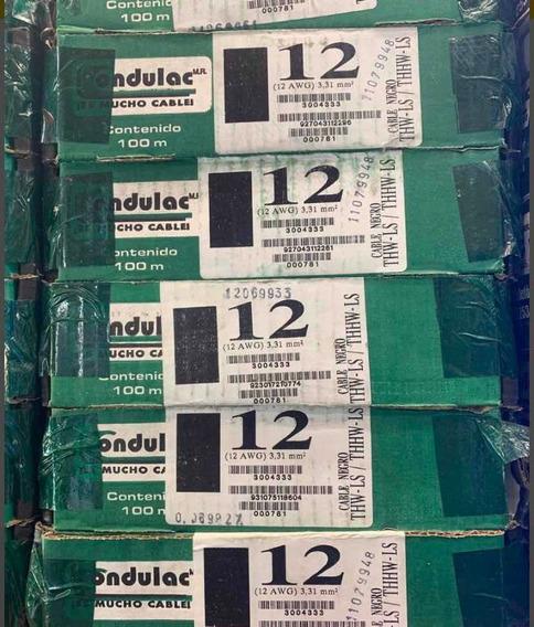 10 Cajas De Cable Condulac Calibre 12