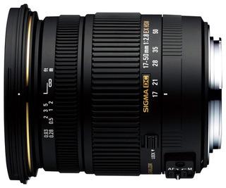 Lente De Zoom Para Cámara Dslr Sigma, 17-50mm F/2.8 Ex Dc