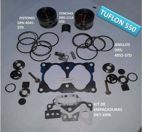 Kit Reparación Compresor De Aire Tuflo 550 Mack.