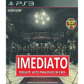 Resident Evil Remake Hd Ps3 Psn - Midia Digital