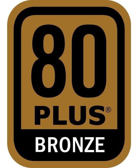Fonte Atx Mymax 500w 80 Plus Bronze Pfc Gamer Bivolt Automático 8 Pinos Cooler 120mm Gamer Gtx 1060 1070 Rx 570 580
