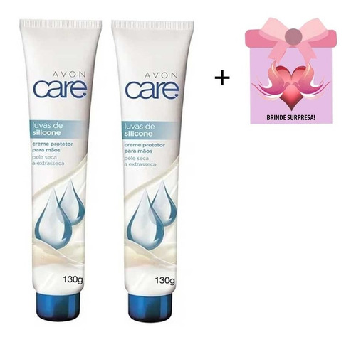 Creme Protetor Mãos Avon Care Luva Silicone Kit C/2 + Brinde
