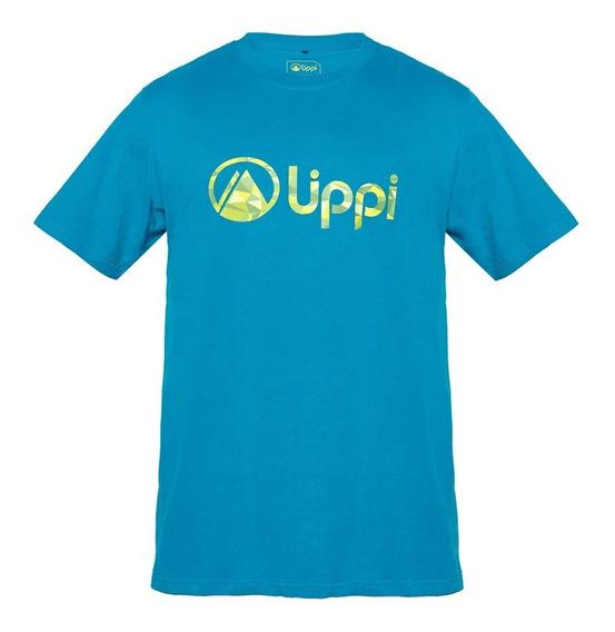 Polera Hombre Logo Cotton T-shirt Petróleo Lippi