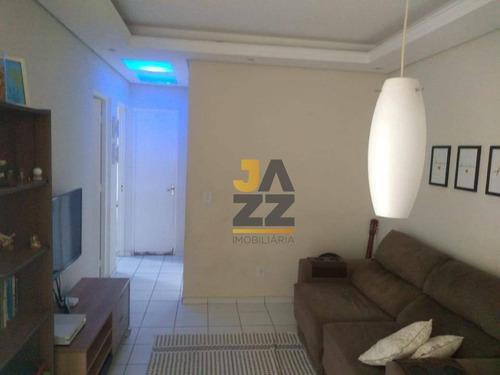 Imagem 1 de 30 de Apartamento Com 2 Dormitórios À Venda, 49 M² Por R$ 202.000 - Matão - Sumaré/sp - Ap7178