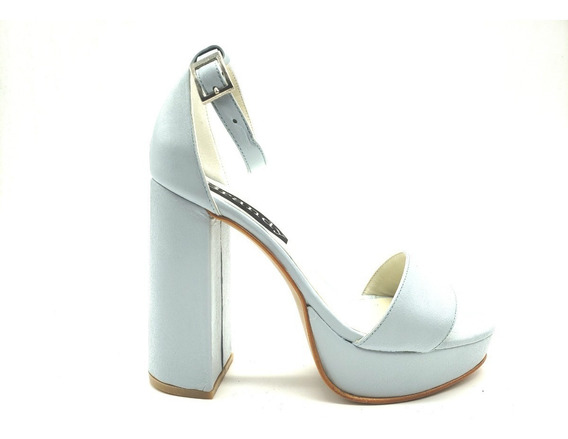 Zapatos Mujer Sandalias Cuero Ecologico Plataforma 2695 2019