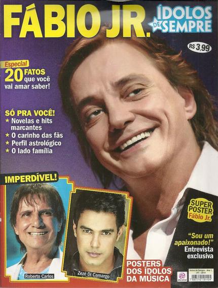 Revista Fabio Jr Idolos De Sempre - Bonellihq Cx326 F18