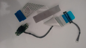 Placa Teclado Touch + Flat Lvds Tv Lg 24mt47d-ps