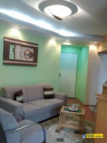 Apartamento Com 2 Dormitórios À Venda, 56 M² Por R$ 280.000,00 - Parque Terra Nova Ii - São Bernardo Do Campo/sp - Ap0454