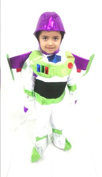 Disfraz De Buzz Lightyear Toy Story Para Niño