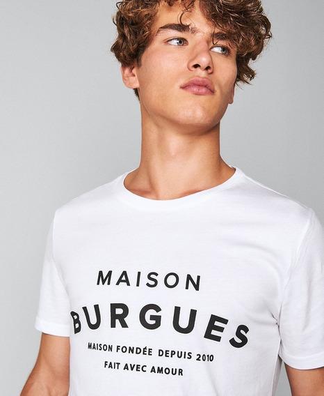 Remera El Burgués Iconic Blanco Promo!!!