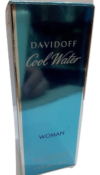 Perfume Cool Water Woman 100 Ml Davidoff Feminino Original