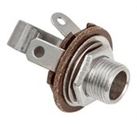 Conector P10 Jack-6,5mm Mono-femea Fechado-4 Peças