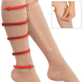 Medias De Compresion Anti Varices Zip Sox Medias + Obs