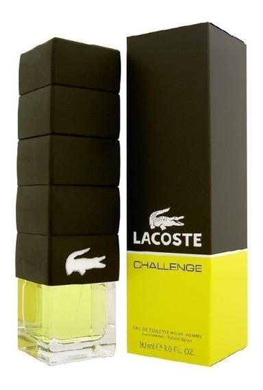 Perfume Lacoste Challenge Masculino Edt 90ml Original