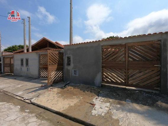 Casa Com 3 Dormitórios À Venda, 101 M² Por R$ 249.900,00 - Jussara - Mongaguá/sp - Ca5112