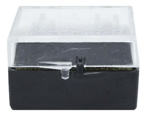50 Caixinhas De Acrílico Com Espuma Para Anel  - 4 X 4 Cm