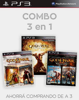 God Of War Collection Completa 5 Juegos 1 - Ps3
